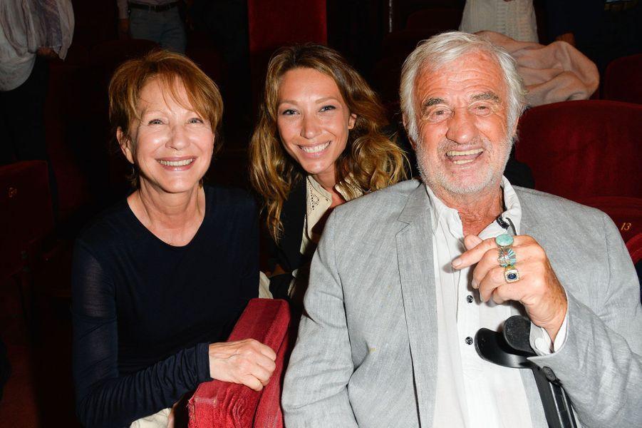 Laura Smet, Nathalie Baye et Jean-Paul Belmondo.
