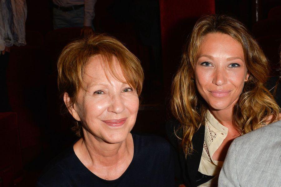 La mère et la fille, Nathalie Baye et Laura Smet.