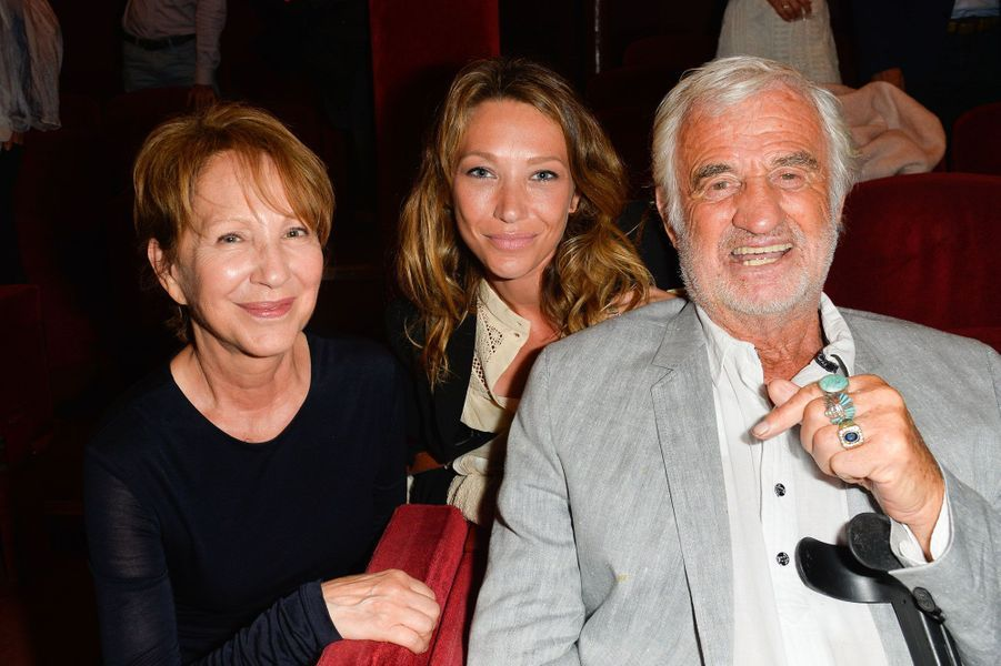 Jean-Paul Belmondo, Laura Smet et Nathalie Baye