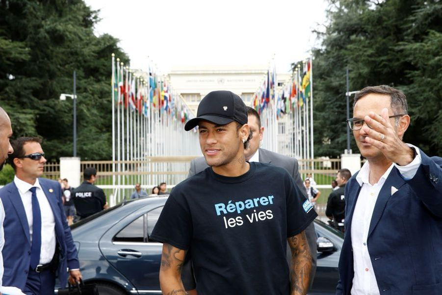 Neymar devient ambassadeur pour Handicap International