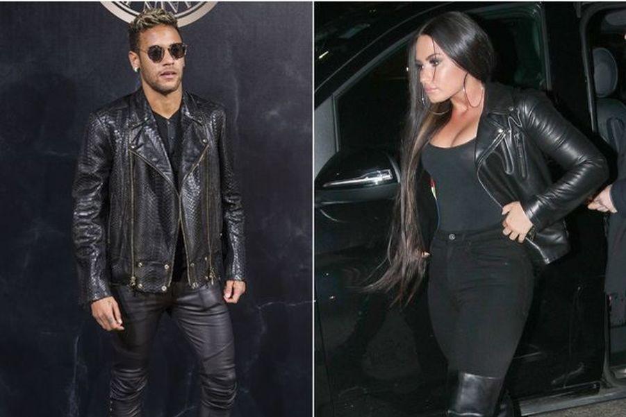 Neymar et Demi Lovato à Londres