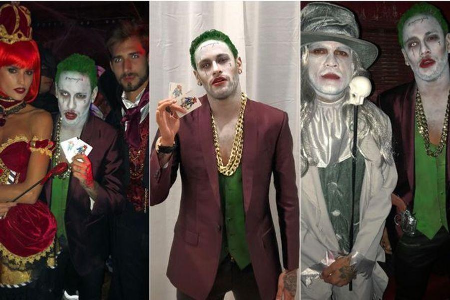 La soirée d'Halloween de Neymar et ses amis