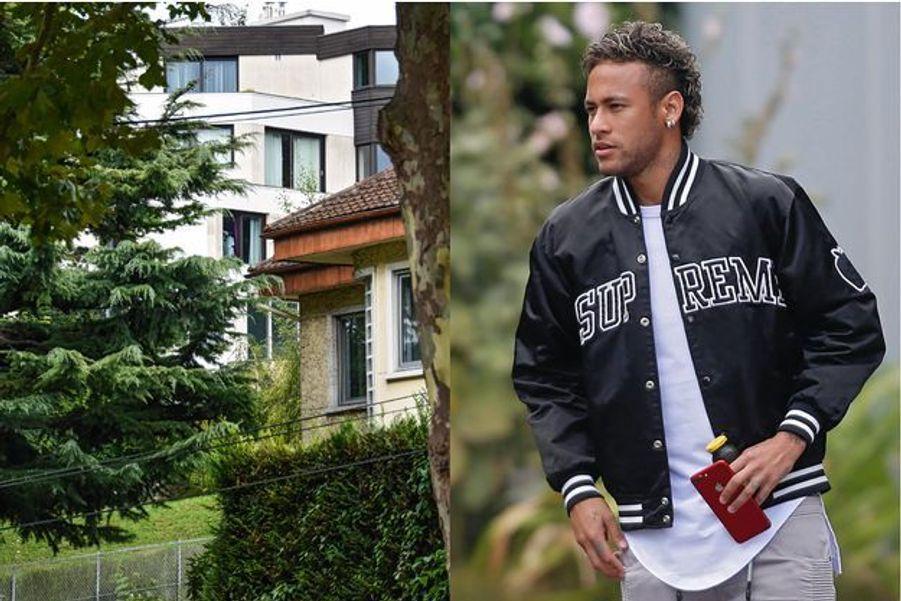 La maison ultrasécurisée de Bougival, où l'attaquant superstar a posé ses valises.