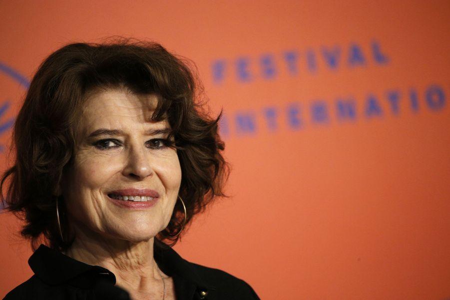 Fanny Ardantlors de la conférence de presse du film «La Belle Epoque» à Cannes le 21 mai 2019