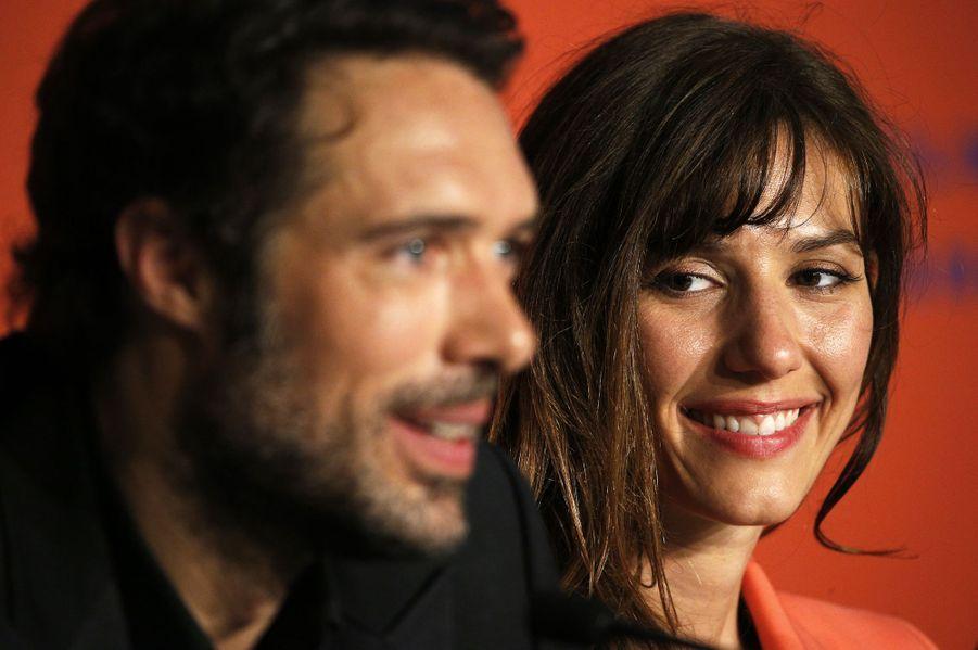 Nicolas Bedos et Doria Tillierlors de la conférence de presse du film «La Belle Epoque» à Cannes le 21 mai 2019