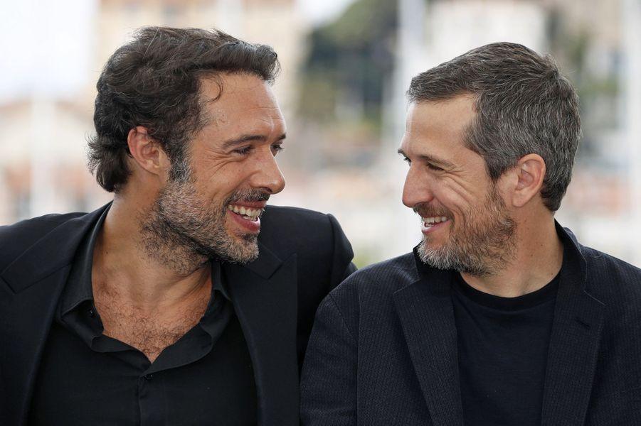 Nicolas Bedos et Guillaume Canet lors du photocall du film «La Belle Epoque» à Cannes le 21 mai 2019