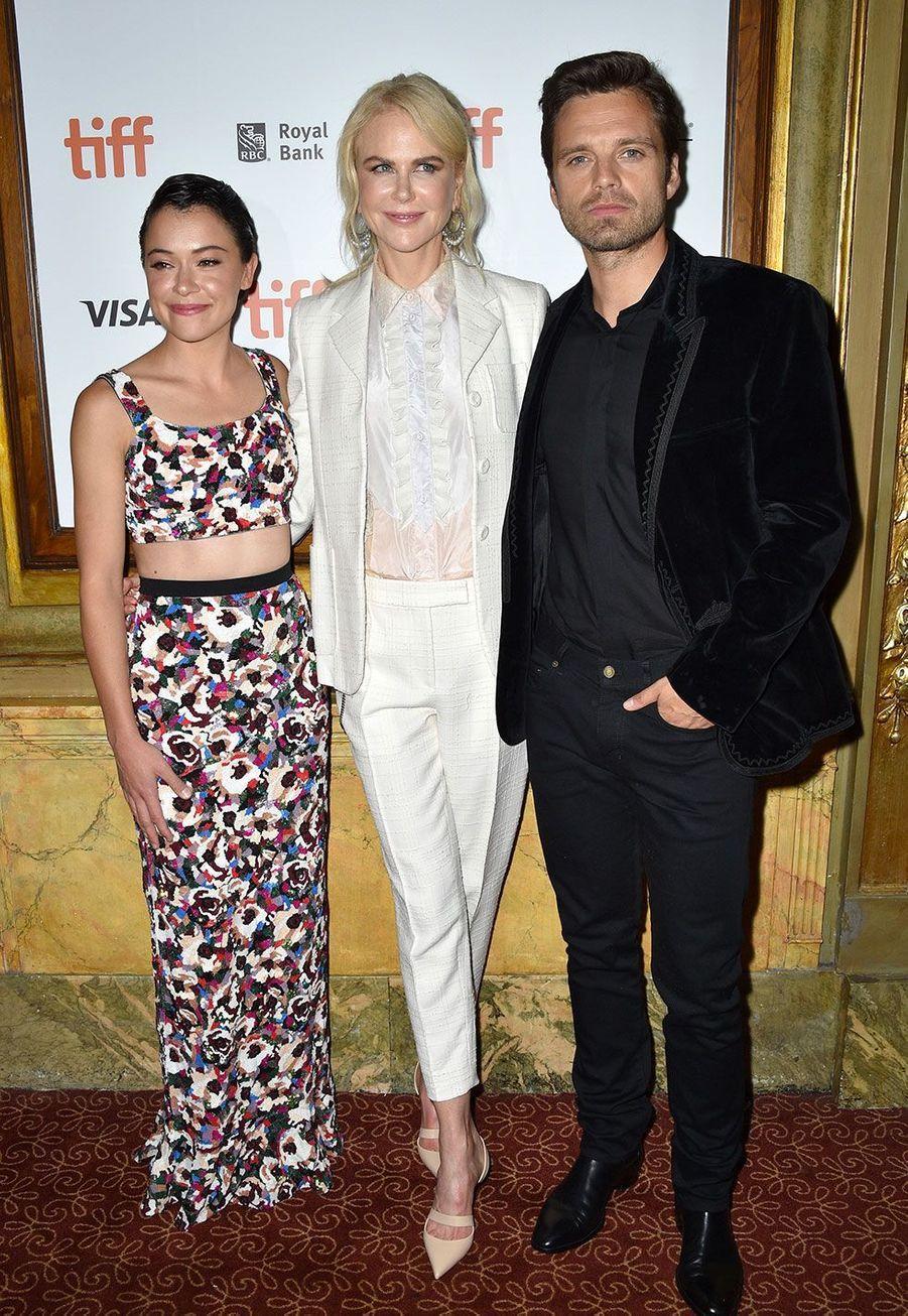 Tatiana Maslany, Nicole Kidman et Sebastian Stan