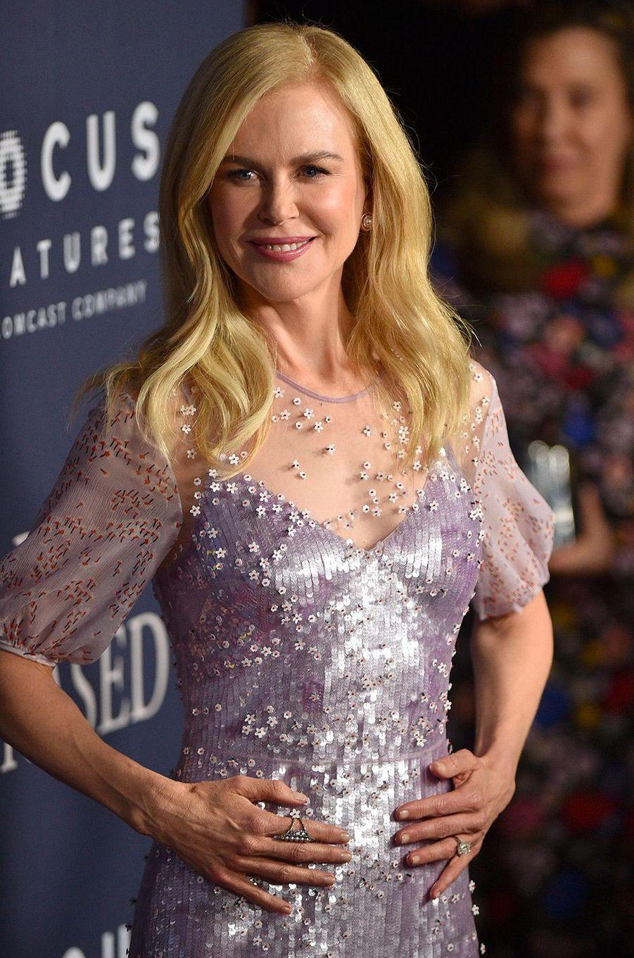 """Nicole Kidman à l'avant-première de """"Boy Erased"""" à Los Angeles, lundi 29 octobre"""