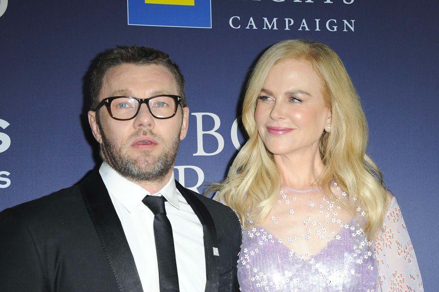 """Nicole Kidman et Joel Edgerton à l'avant-première de """"Boy Erased"""" à Los Angeles, lundi 29 octobre"""
