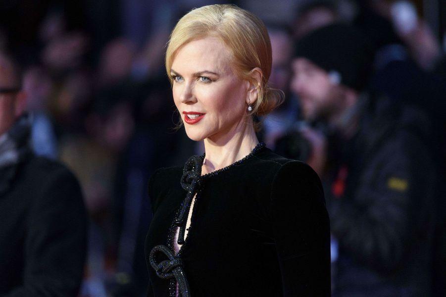 """Nicole Kidman à Londres pour l'avant-première de """"Lion"""""""