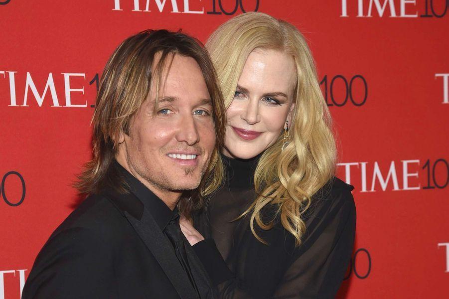 """Nicole Kidman et Keith Urban à la soirée """"Time 100"""" à New York, mardi 24 avril"""