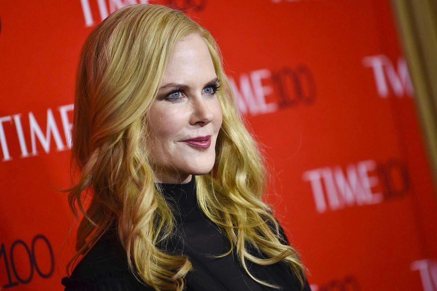 "Nicole Kidman à la soirée ""Time 100"" à New York, mardi 24 avril"