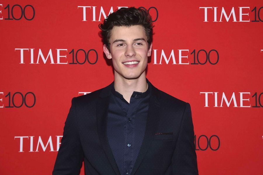 """Shawn Mendes à la soirée """"Time 100"""" à New York, mardi 24 avril"""