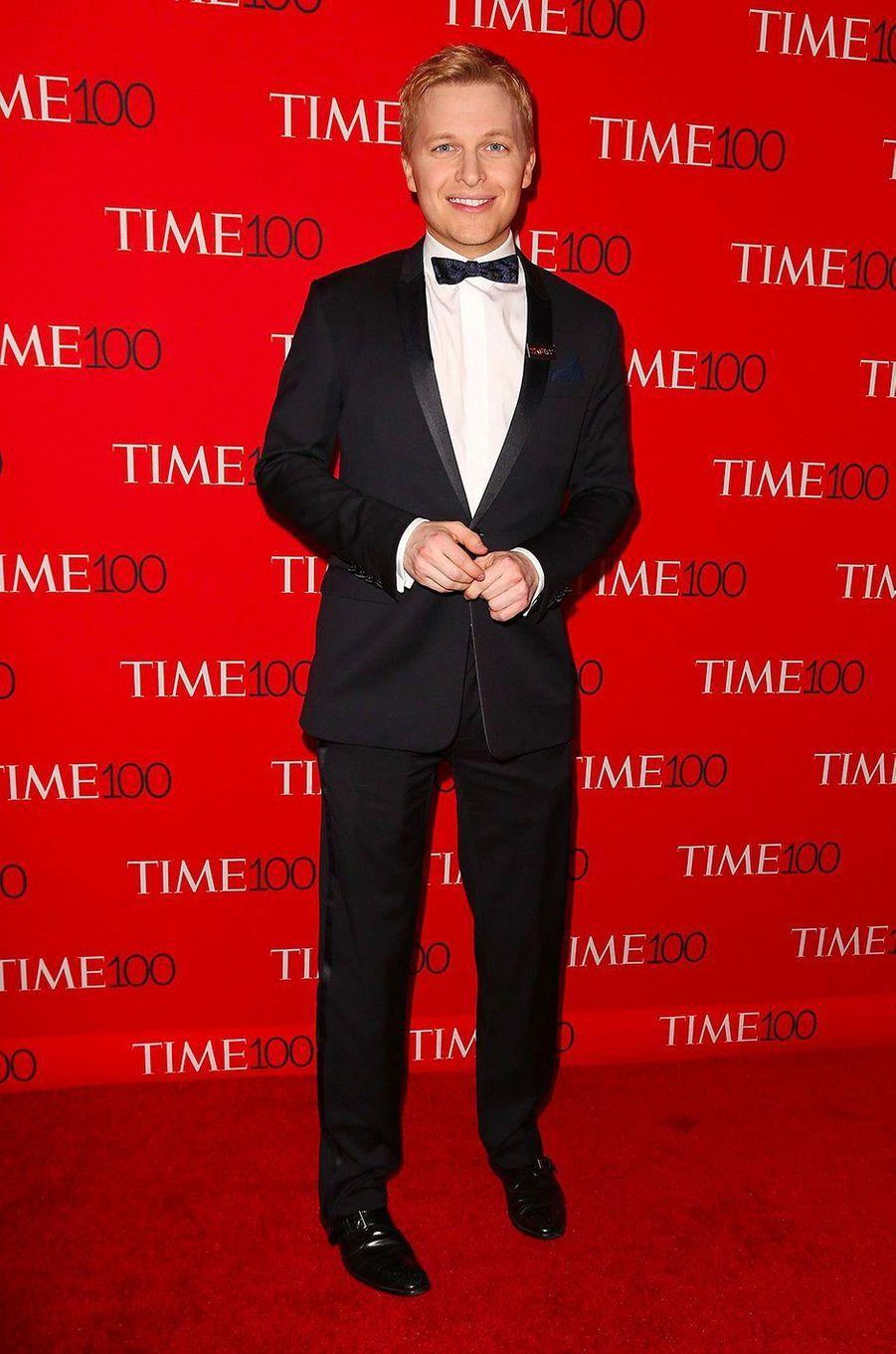 "Ronan Farrow à la soirée ""Time 100"" à New York, mardi 24 avril"