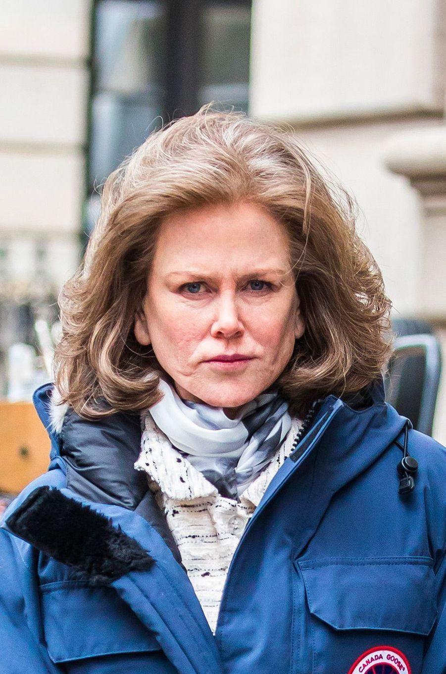 """Nicole Kidman sur le tournage de """"The Goldfinch"""""""