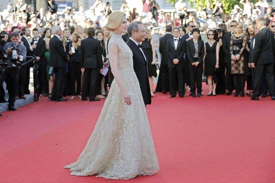 Nicole Kidman à Cannes en mai 2013.