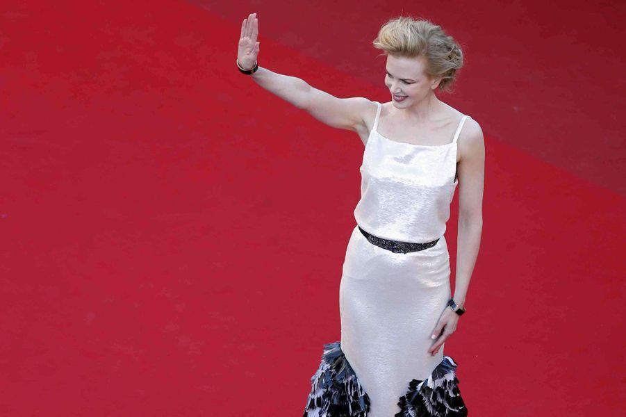 Nicole Kidman rayonnante en 2013.