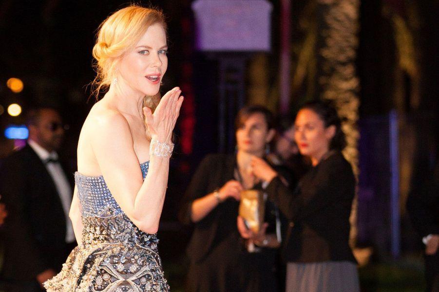 Nicole Kidman très glamour en 2014.