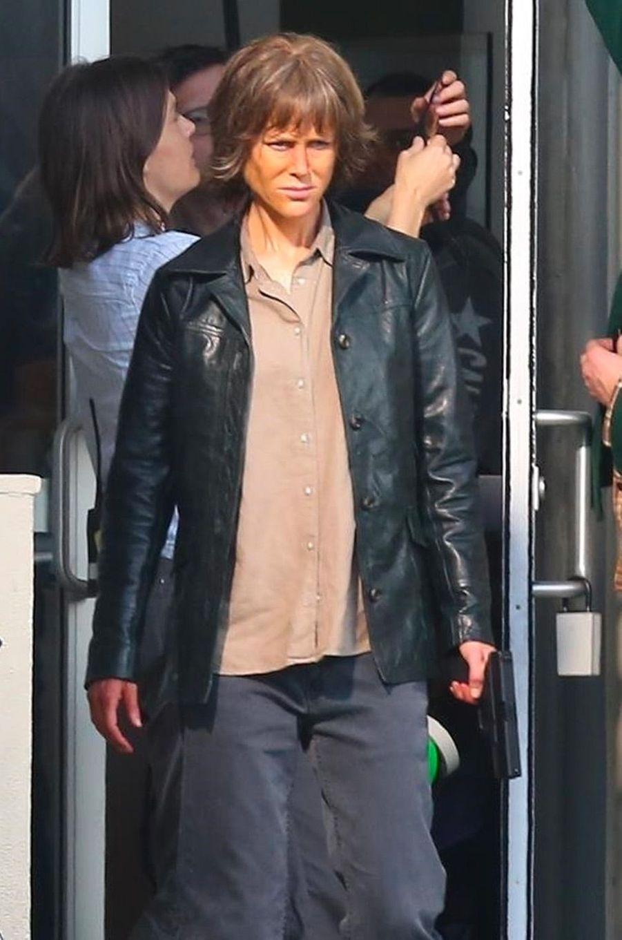 """Nicole Kidman sur le tournage de """"Destroyer"""""""