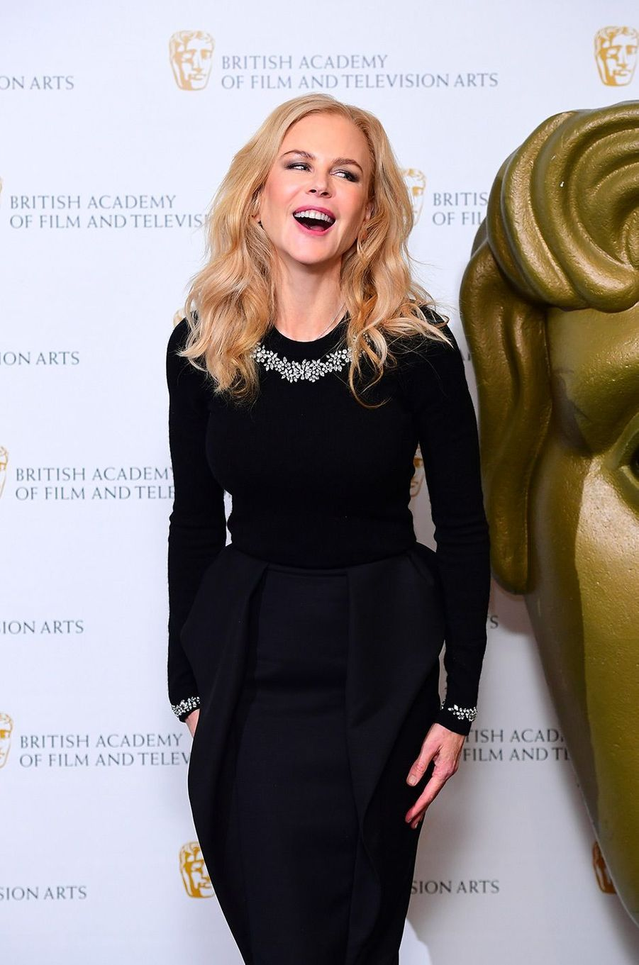 Nicole Kidman à Londres, mercredi 21 novembre 2018