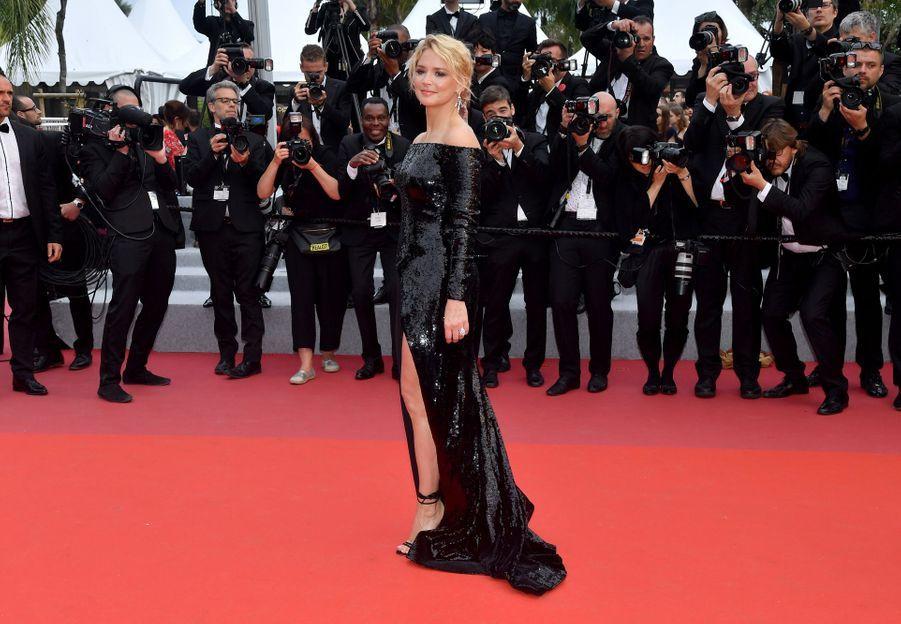 Virginie Efira à Cannes, le 24 ami 2019