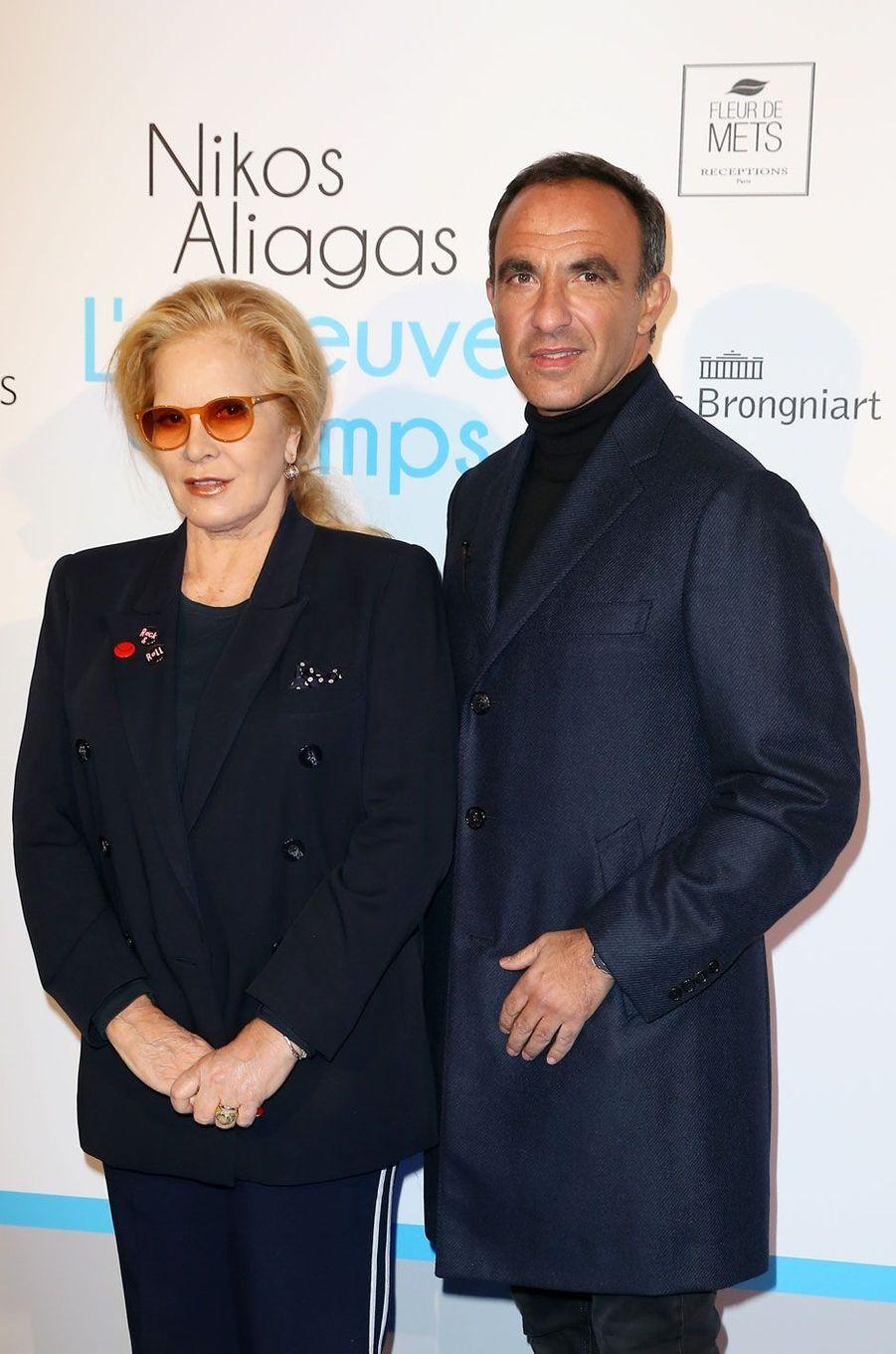 Sylvie Vartan et Nikos Aliagas