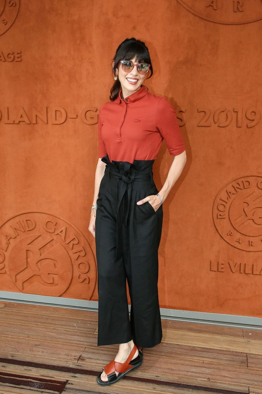 Nolwenn Leroy à Roland-Garros le 4 juin 2019