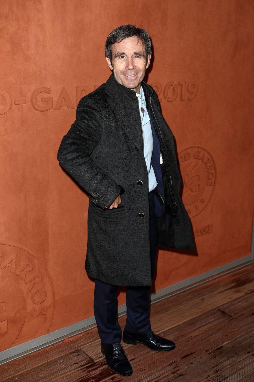 David Pujadasà Roland-Garros le 5 juin 2019