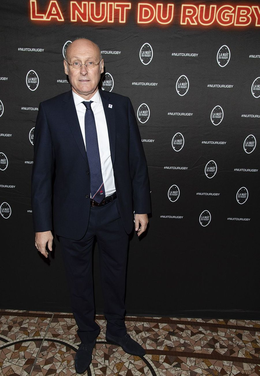 Bernard Laporteà la 16e Nuit du Rugby à Paris le 25 novembre 2019