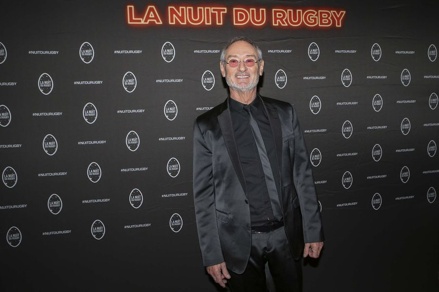 Michael Jones à la 16e Nuit du Rugby à Paris le 25 novembre 2019