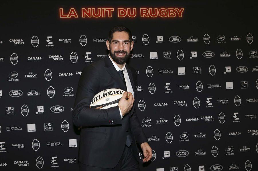 Nikola Karabaticà la 16e Nuit du Rugby à Paris le 25 novembre 2019