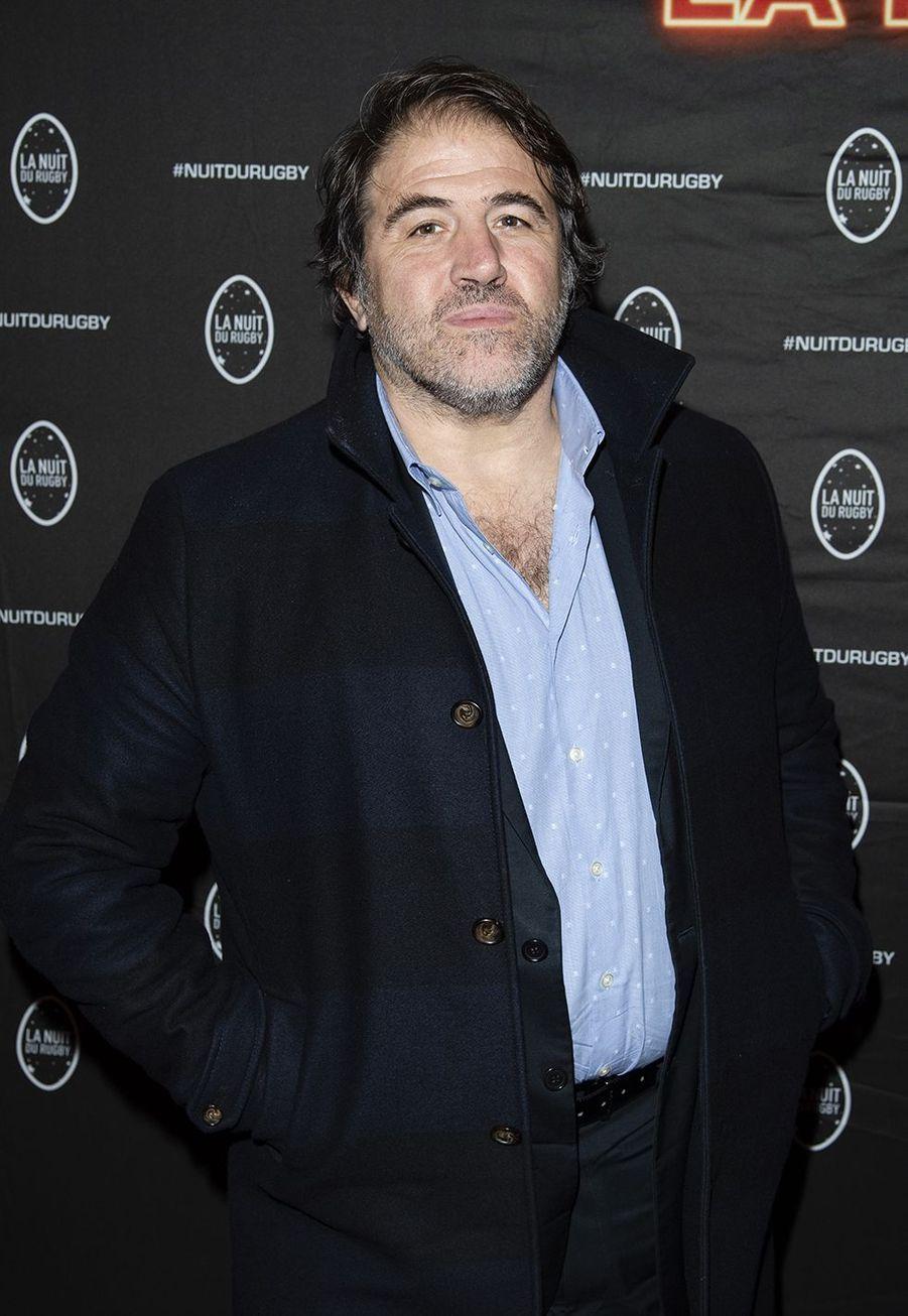 Serge Simonà la 16e Nuit du Rugby à Paris le 25 novembre 2019