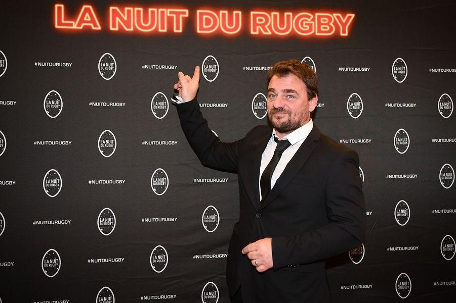 Thierry Godardà la 16e Nuit du Rugby à Paris le 25 novembre 2019
