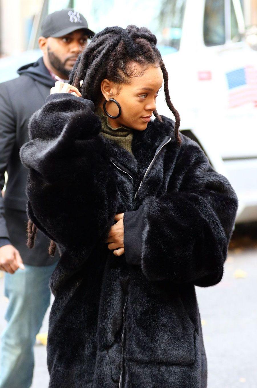 """Rihanna sur le tournage de """"Ocean's Eight"""""""