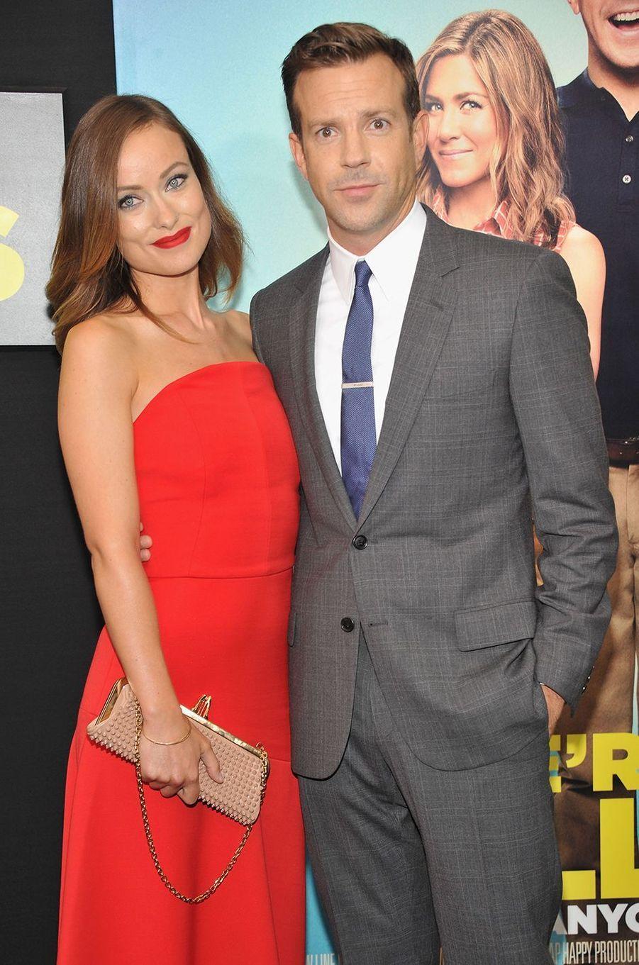 Olivia Wilde et Jason Sudeikis à l'avant-première du film «We're the Millers» à New York en août 2013