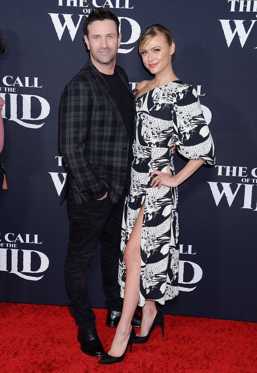 Adam Fergus et Hayley Erinà l'avant-première du film «The Call of the Wild» («L'Appel de la forêt») à Los Angeles le 13 février 2020