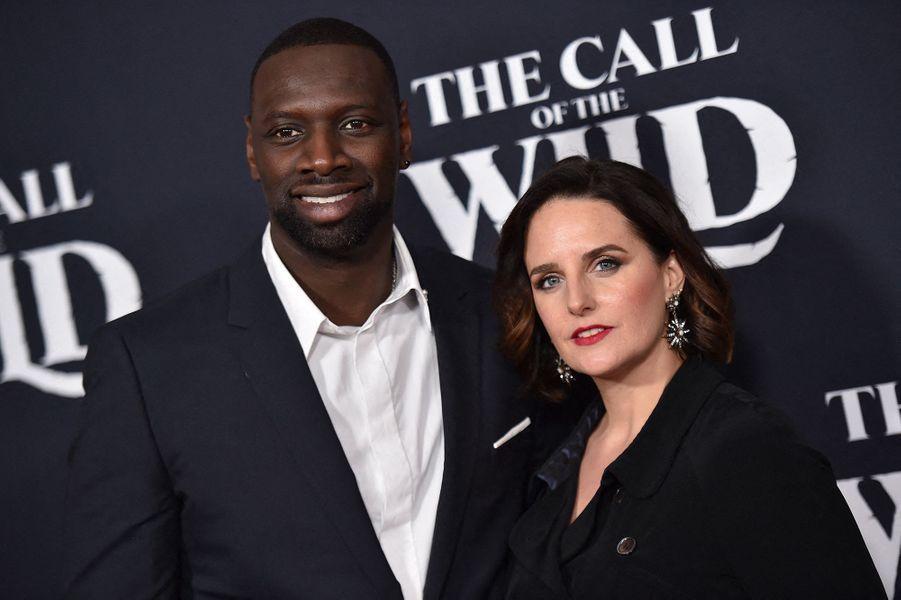 Omar et Hélène Sy à l'avant-première du film «The Call of the Wild» («L'Appel de la forêt») à Los Angeles le 13 février 2020