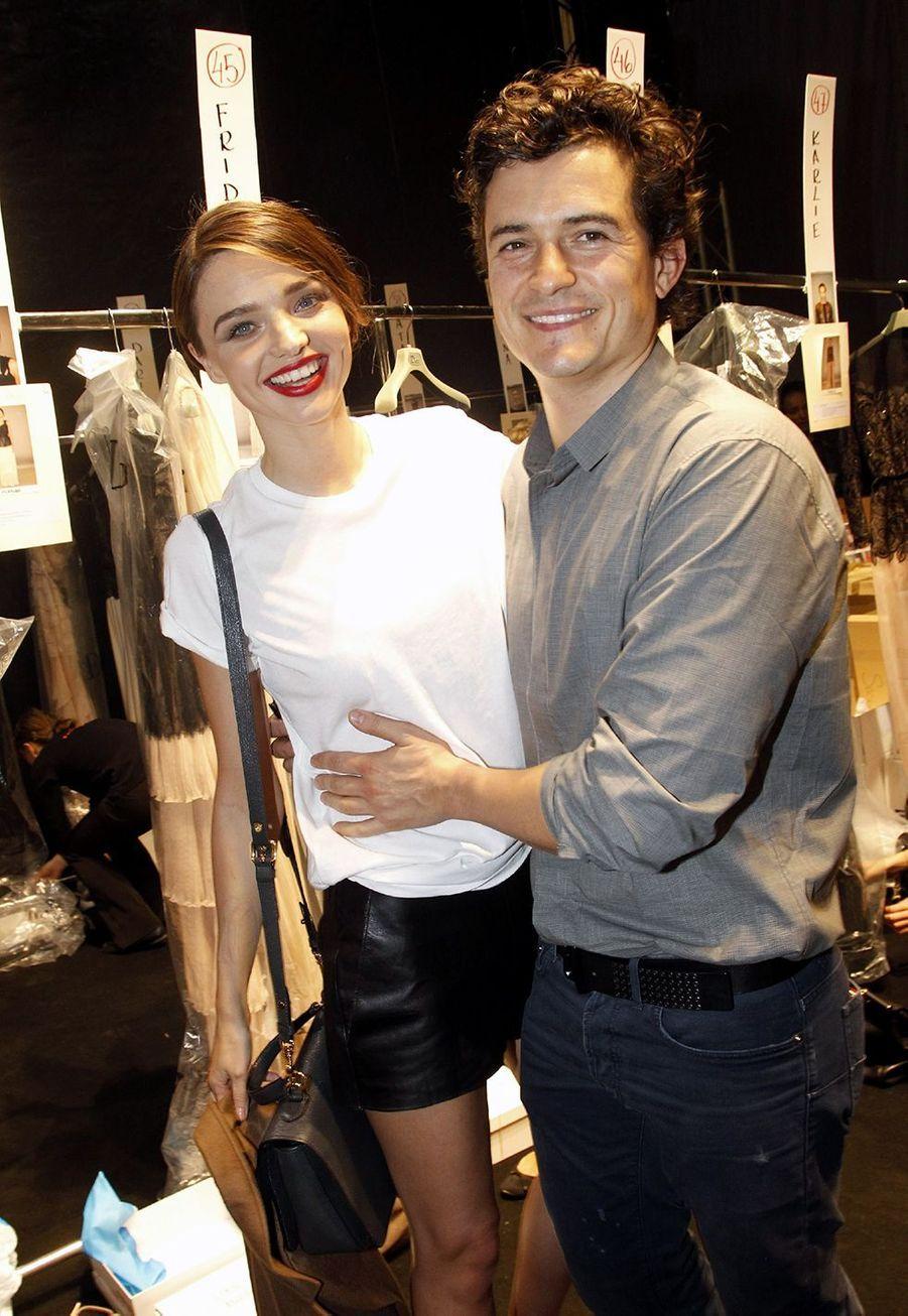 Miranda Kerr et Orlando Bloom en 2011