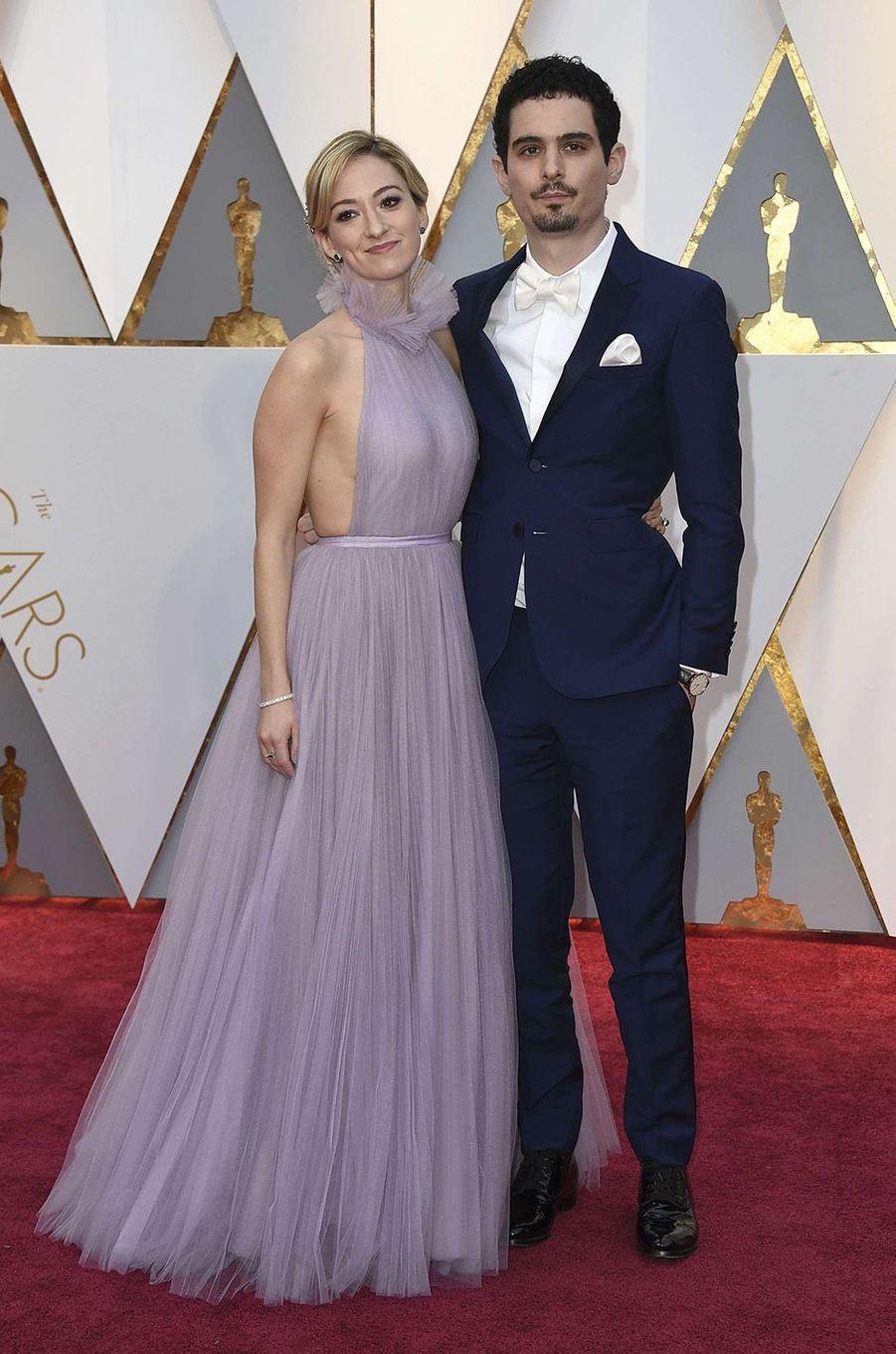 Damien Chazelle et Olivia Hamilton.