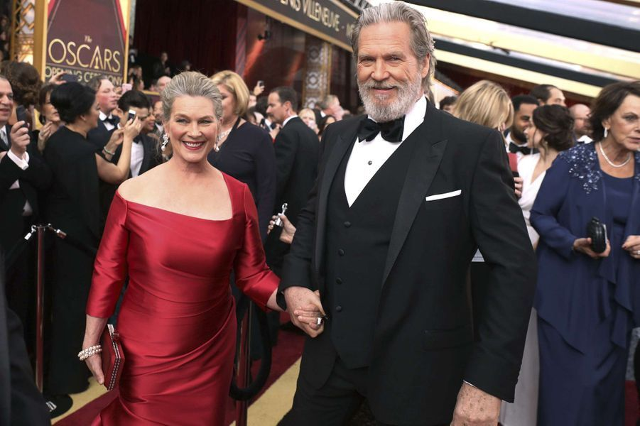 Jeff Bridges et Susan Geston.