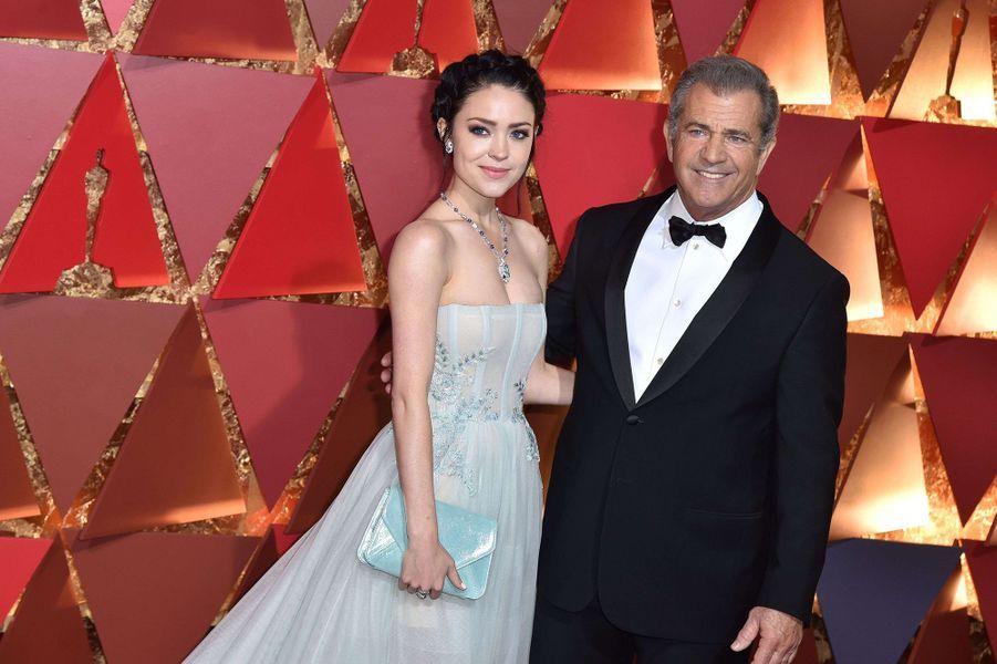 Mel Gibson et Rosalind Ross.