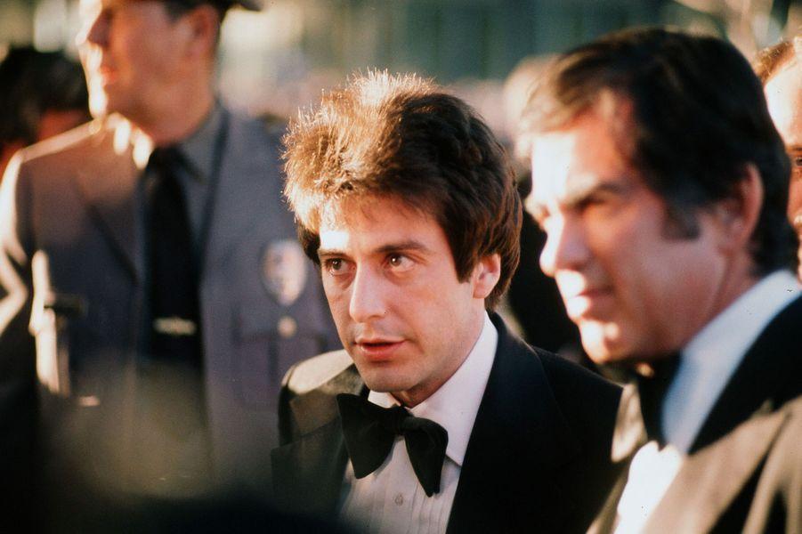Al Pacino lors des Oscars en 1974