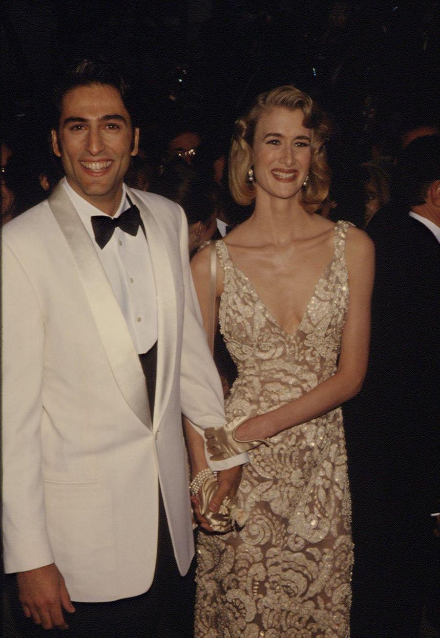 Laura Dern aux Oscars en 1992