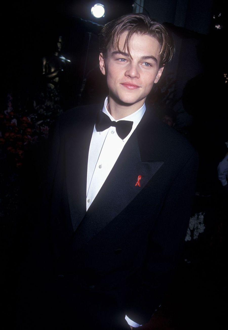 Leonardo DiCaprio aux Oscars en 1994