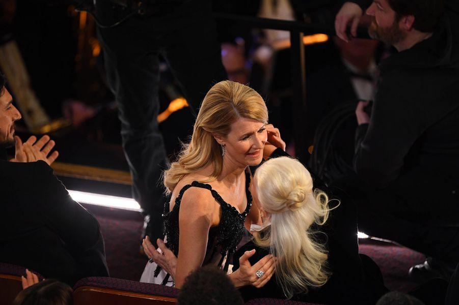 Laura Dern et sa mère Dianeaux Oscars à Los Angeles le 9 février 2020