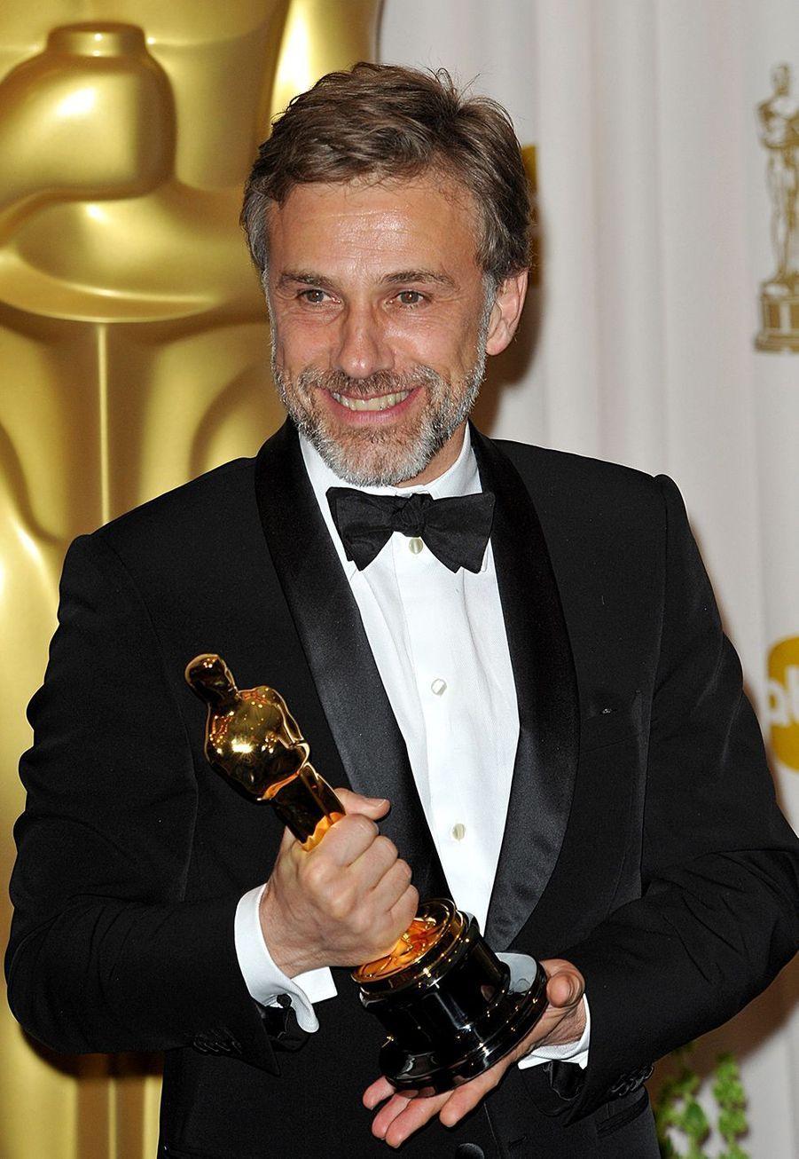"""2010 :Christoph Waltz (meilleur acteur dans un second rôle pour """"Inglorious Basterds"""")"""