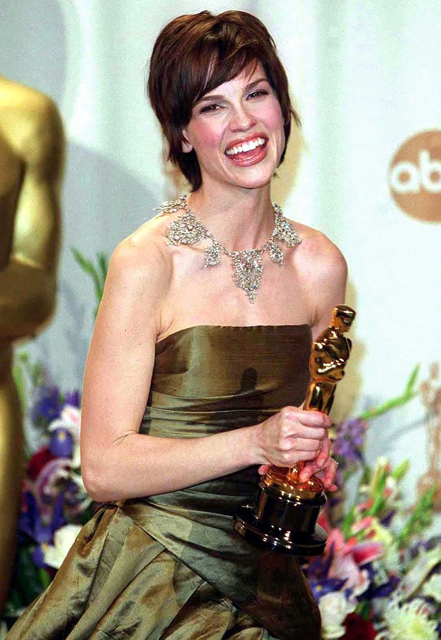 """2000 : Hilary Swank (meilleure actrice pour """"Boys Don't Cry"""")"""
