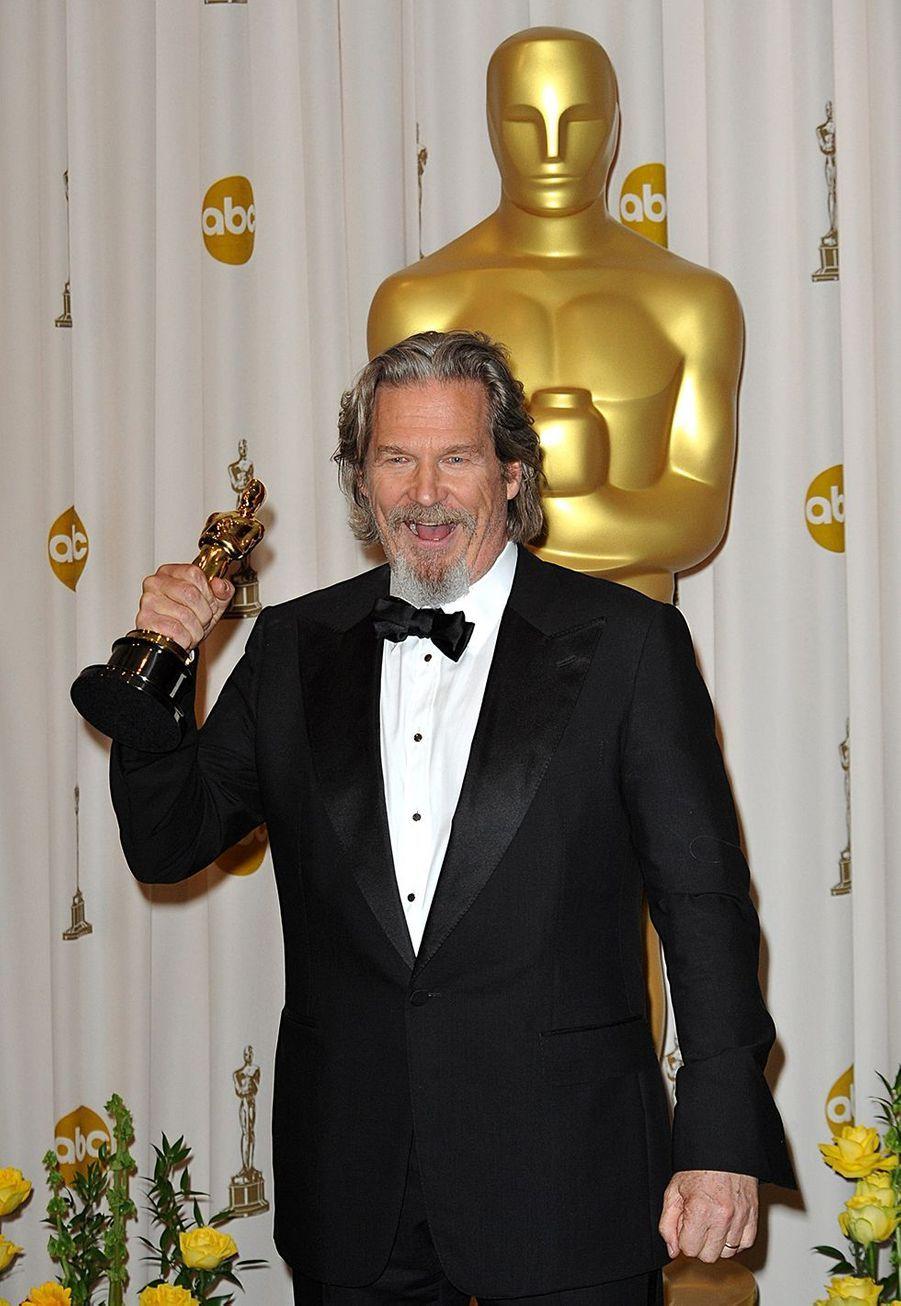 """2010 : Jeff Bridges (meilleur acteur dans """"Crazy Heart"""")"""