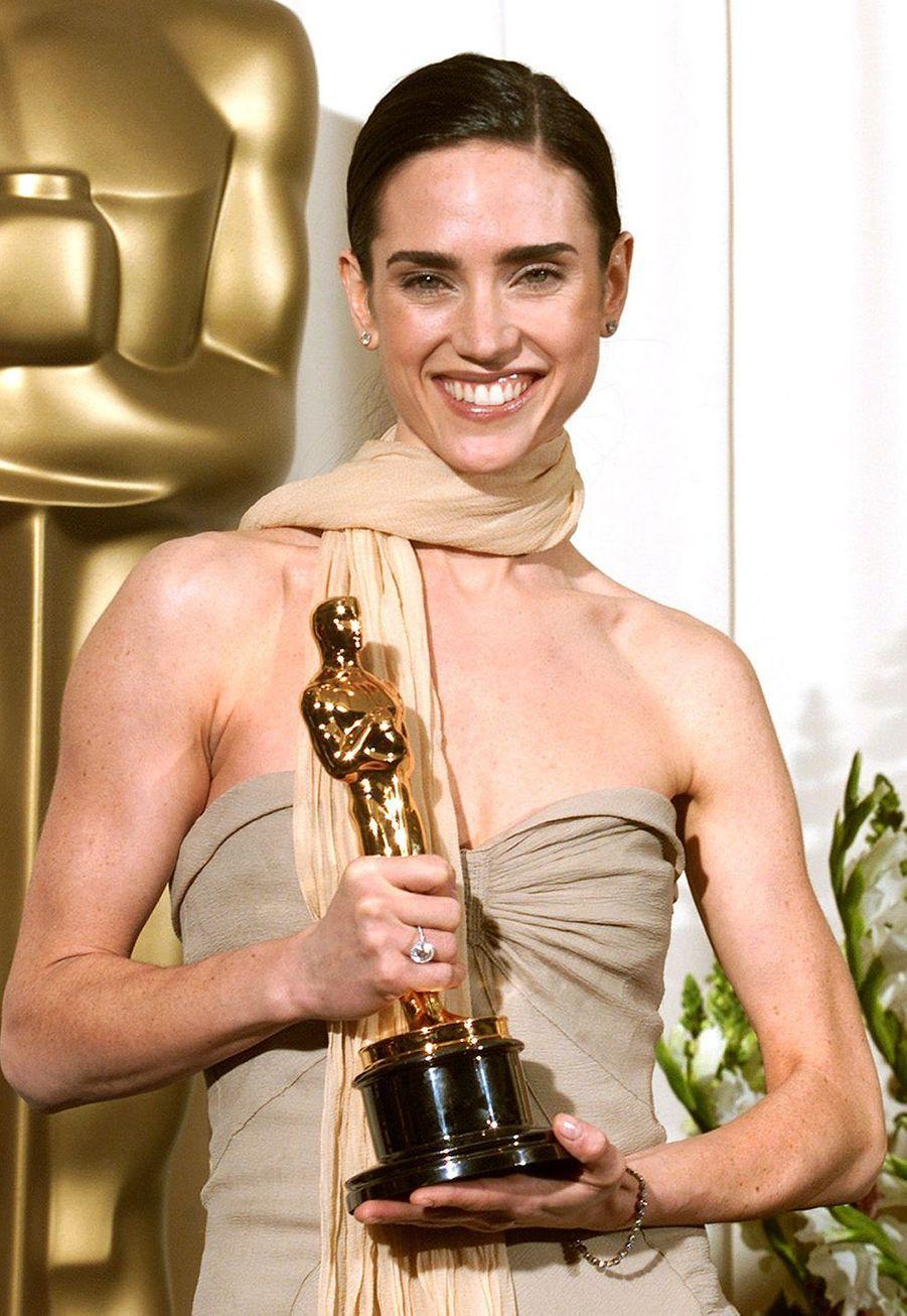 """2002 : Jennifer Connelly (meilleure second rôle pour """"Un homme d'exception"""")"""