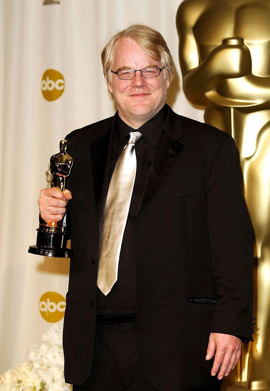 """2006 :Philip Seymour Hoffman (meilleur acteur pour """"Truman Capote"""")"""